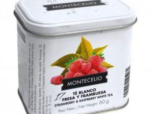 LATA TÉ BLANCO CON FRESA Y FRAMBUESA 60G