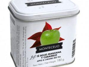 LATA DE TÉ ROJO CON MANZANA Y CARAMELO 180G