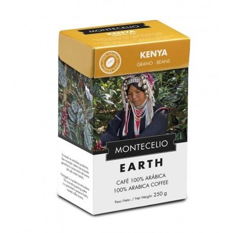 Café Montecelio Earth Kenia en grano. 250 gr.