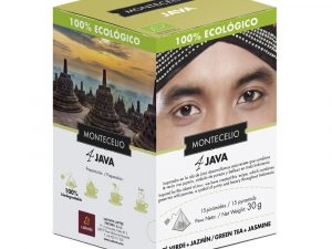 Pirámides Montecelio - Java - Té Verde Al Jazmín Ecológico